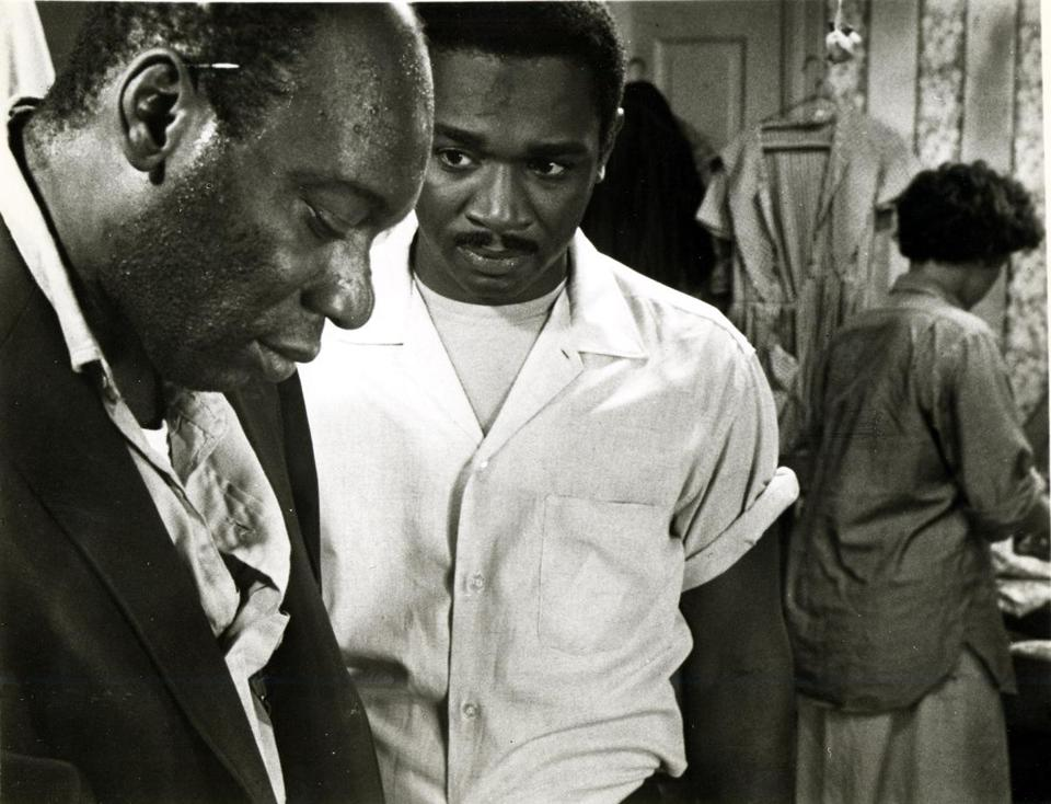 "Julius Harris (left) and Ivan Dixon in ""Nothing But a Man."""