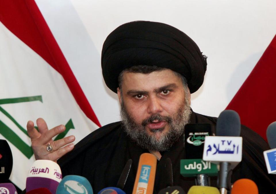 Muqtada al-Sadr said protesters have the right to demonstrate.