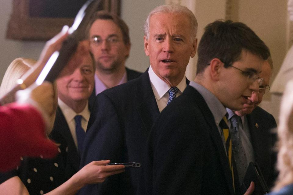 Vice President Joe Biden worked with Senate leaders on both sides Monday to reach the agreement.