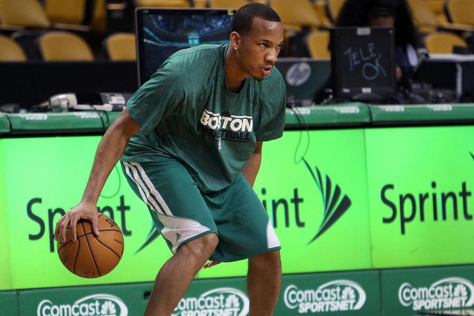 After rehabbing from surgery on both shoulders, Celtics guard Avery Bradley is eager to show his moves in games again.