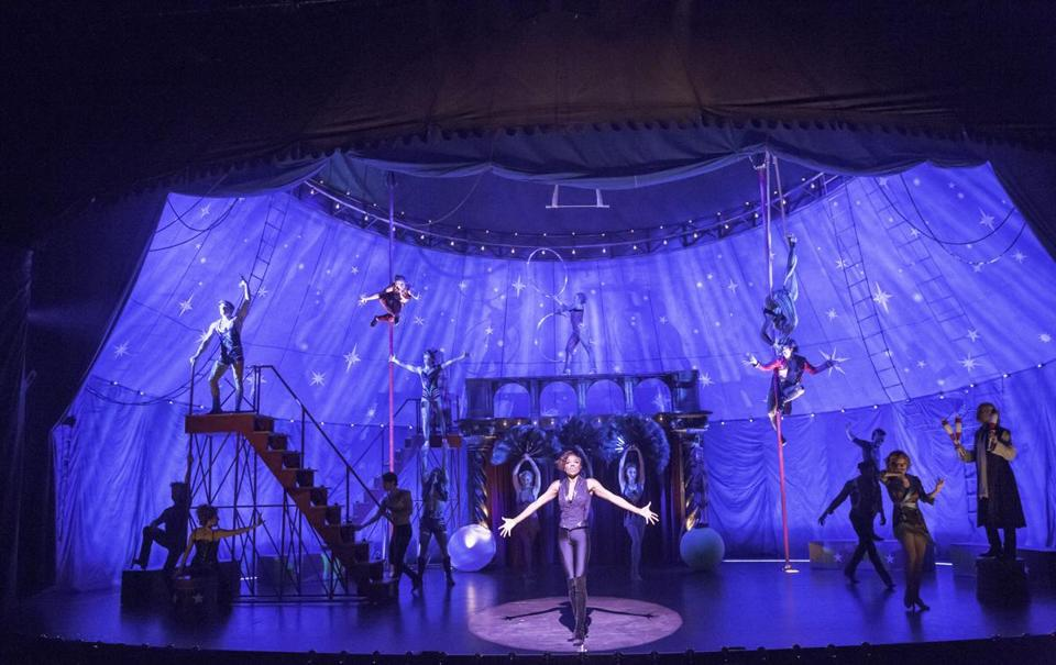 "The American Repertory Theater 40th-year revival of the Tony Award-winning ""Pippin,"" helmed by ART artistic director Diane Paulus, is circus-inspired."