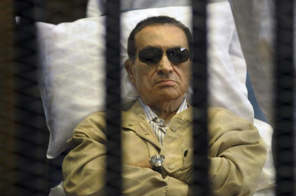 A fact-finding mission's report increased pressure for a retrial of ousted president Hosni Mubarak, 84.