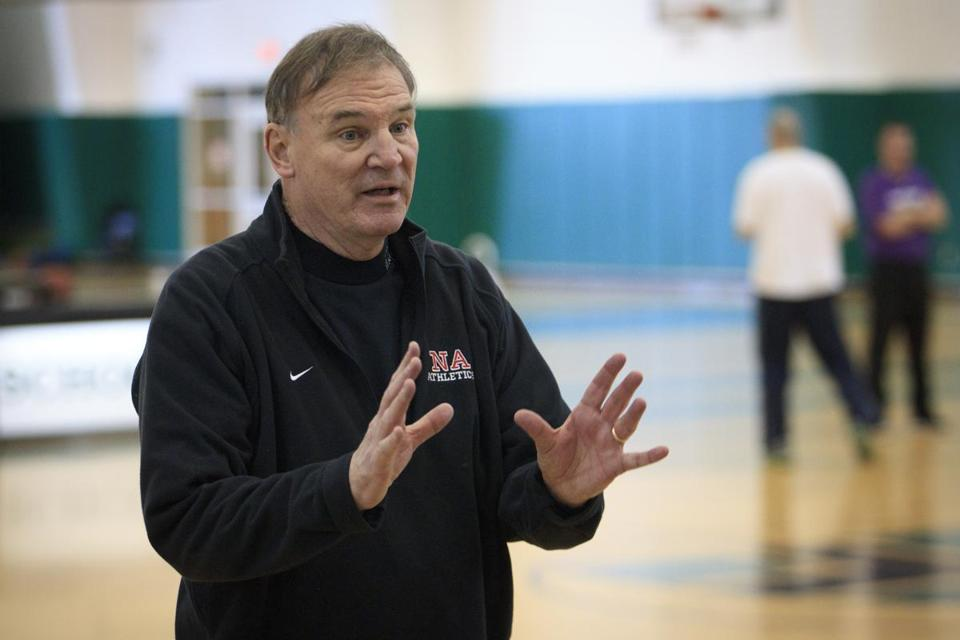 Mike McVeigh offers another lesson in his 31st season as boys' basketball coach at North Andover High.
