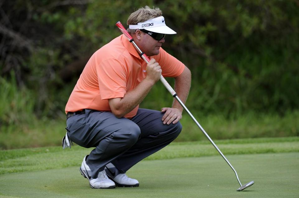 Carl Pettersson, a 10-year veteran of the PGA Tour, changed to a long putter in college, 16 years ago.