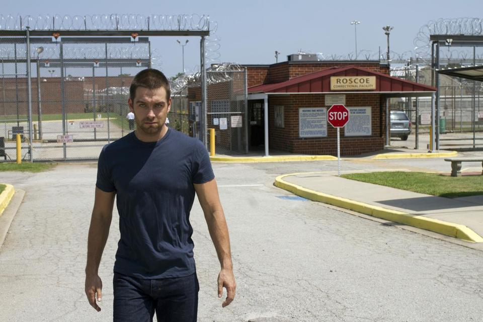"New Zealand actor Antony Starr is Lucas Hood, a newly released convict, in ""Banshee."""