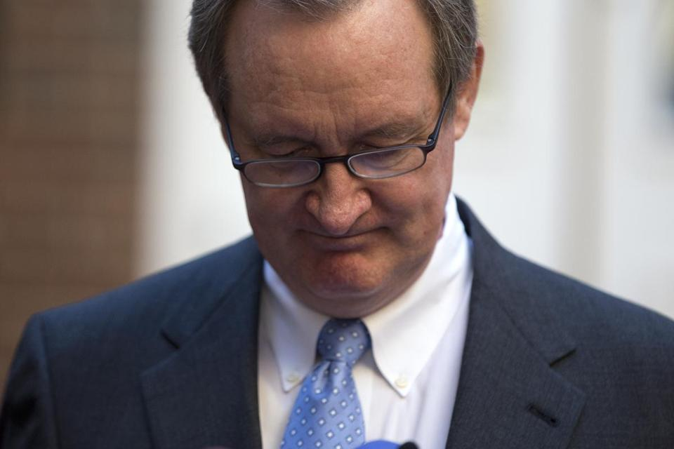 Senator Michael Crapo, Republican of Idaho, was fined and his license was suspended.