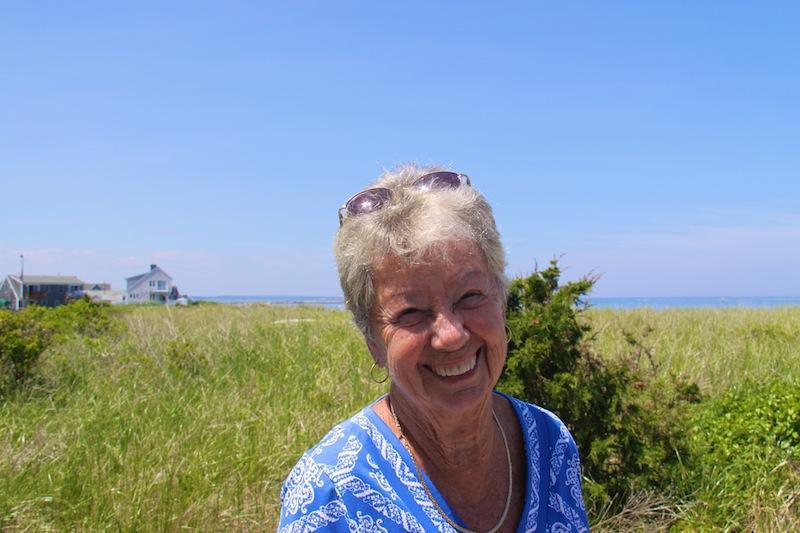 Mrs. McGrory on a trip to Cape Cod in 2010.