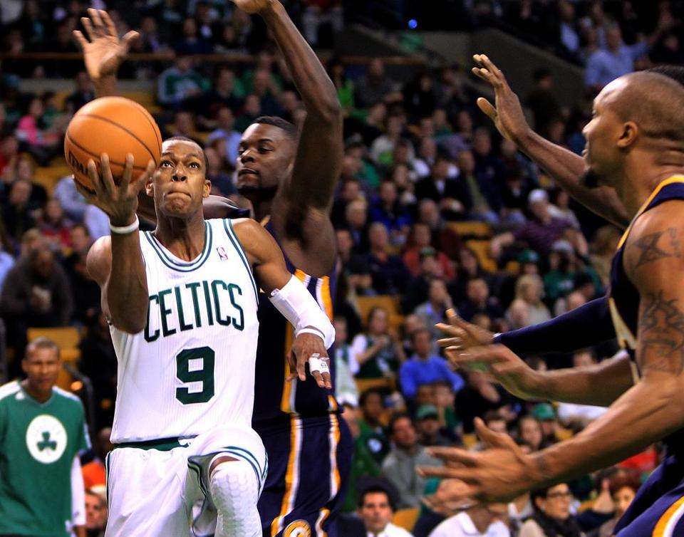Celtics coach Doc Rivers wants to see how his stockpile of guards does in Rajon Rondo's absence.