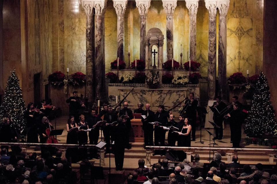 "Green Mountain Project performs Monteverdi's ""Vespro della Beata Vergine"" at St. Paul Church on Saturday."