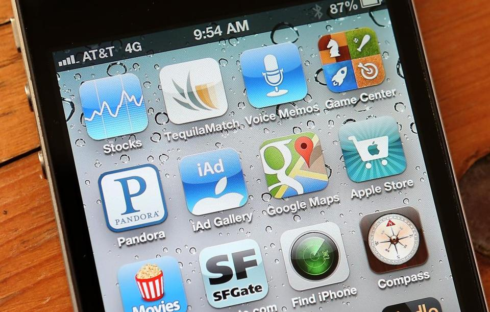 Apple said Monday that December saw record downloads of more than 2 billion apps.