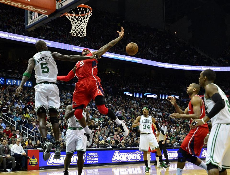 "The Hawks spent the second half of the Celtics' 89-81 victory with an ""uh-oh"" feeling."