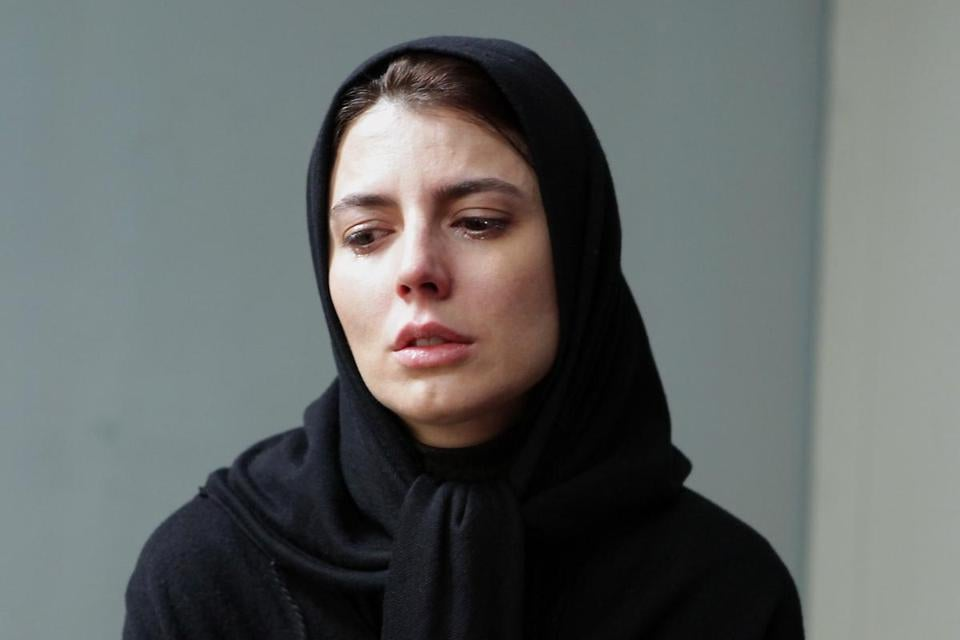 "Leila Hatami, who starred in last year's Oscar-winning best foreign language film, ""A Separation,"" plays a married movie actress opposite her real-life husband, Ali Mossafa, in ""The Last Step."""