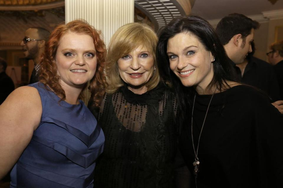 "Imagine magazine's publisher, Carol Patton (center) with ""The Fighter"" actresses Melissa McMeekin (left) and Erica McDermott."