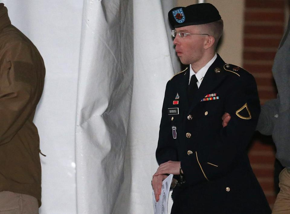 Private Bradley Manning faces 22 charges, including aiding the enemy, which carries a maximum sentence of life behind bars