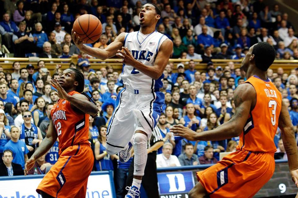 Quinn Cook scored a career-high 27 points for Duke.
