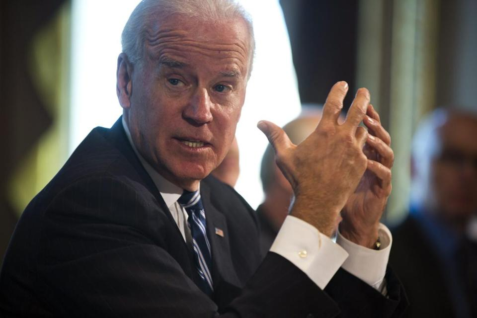 Vice President Joe Biden on Thursday sketched out a plan for gun legislation.