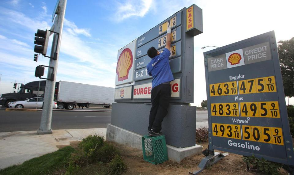 Increased domestic oil production is expected to help drive gas prices at the pump lower this year.