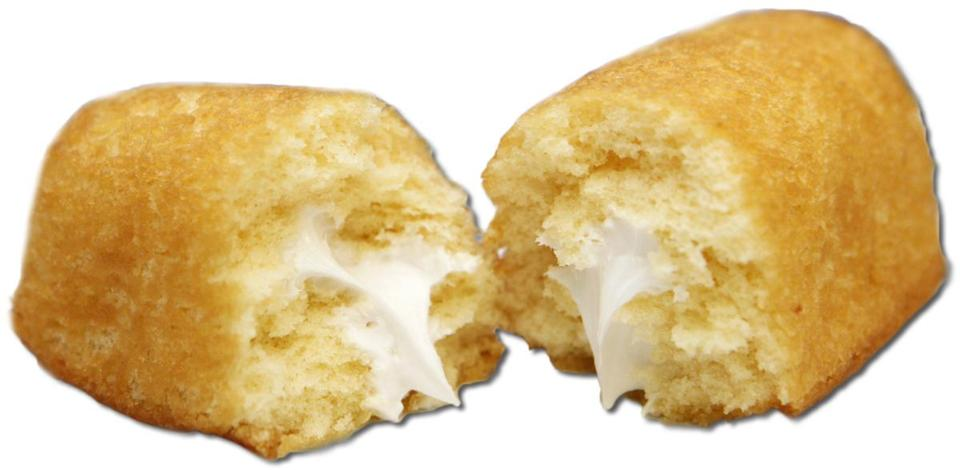 Golden Creme Cakes, the Market Basket version of Hostess Twinkies.