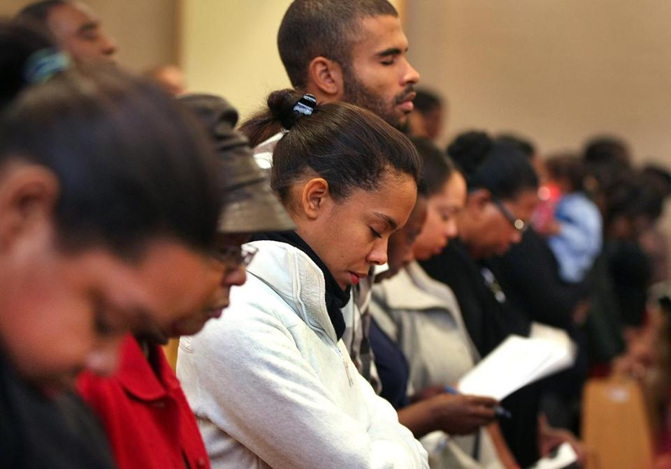 Those at Berea Seventh-Day Adventist Church prayed for the teenager.