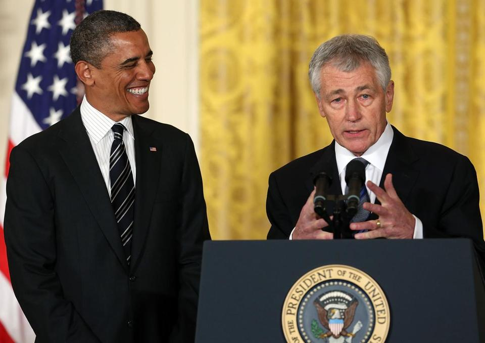 To his allies, the presence of Chuck Hagel as defense secretary would repudiate the interventionist approach to foreign policy promoted by some in the Bush White House.