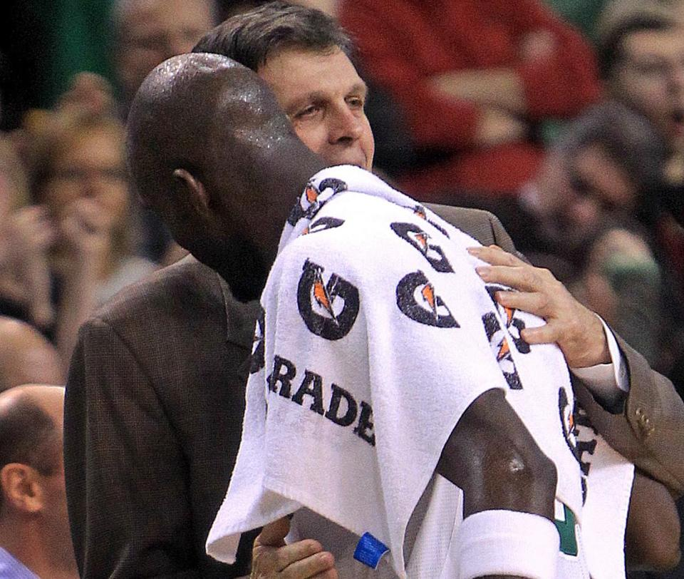 "Kevin Garnett called his former coach in Minnesota, Kevin McHale, ""one of the best teachers I've ever been around."""