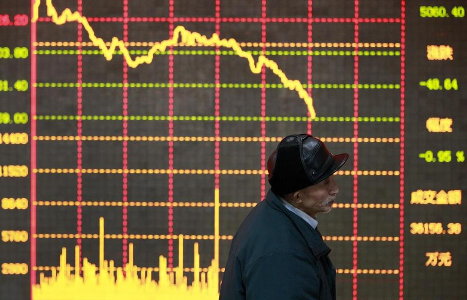 Stocks in Shanghai rose 3.1 percent after a regulator said China needs to allow more foreign investment.