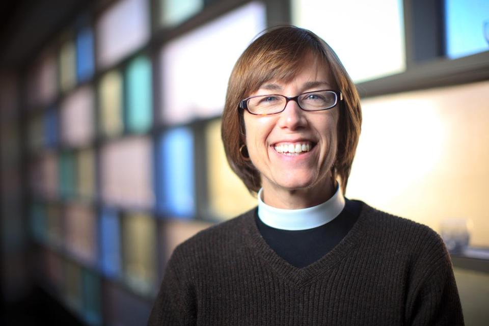 Pastor Amy McCreath, of The Church of The Good Shepherd Episcopal Church in Watertown.