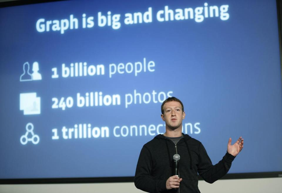 """Graph search is a completely new way to get information on Facebook,'' chief executive Mark Zuckerberg said."