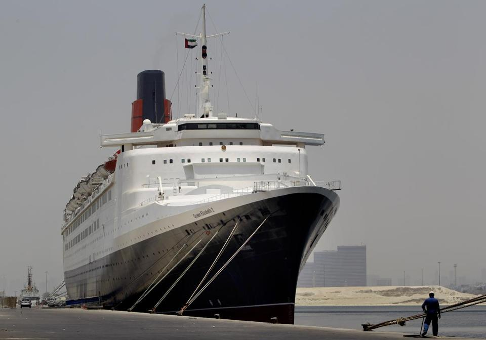 The QE2's fate has been the subject of intense speculation since it arrived in Dubai in November 2008.