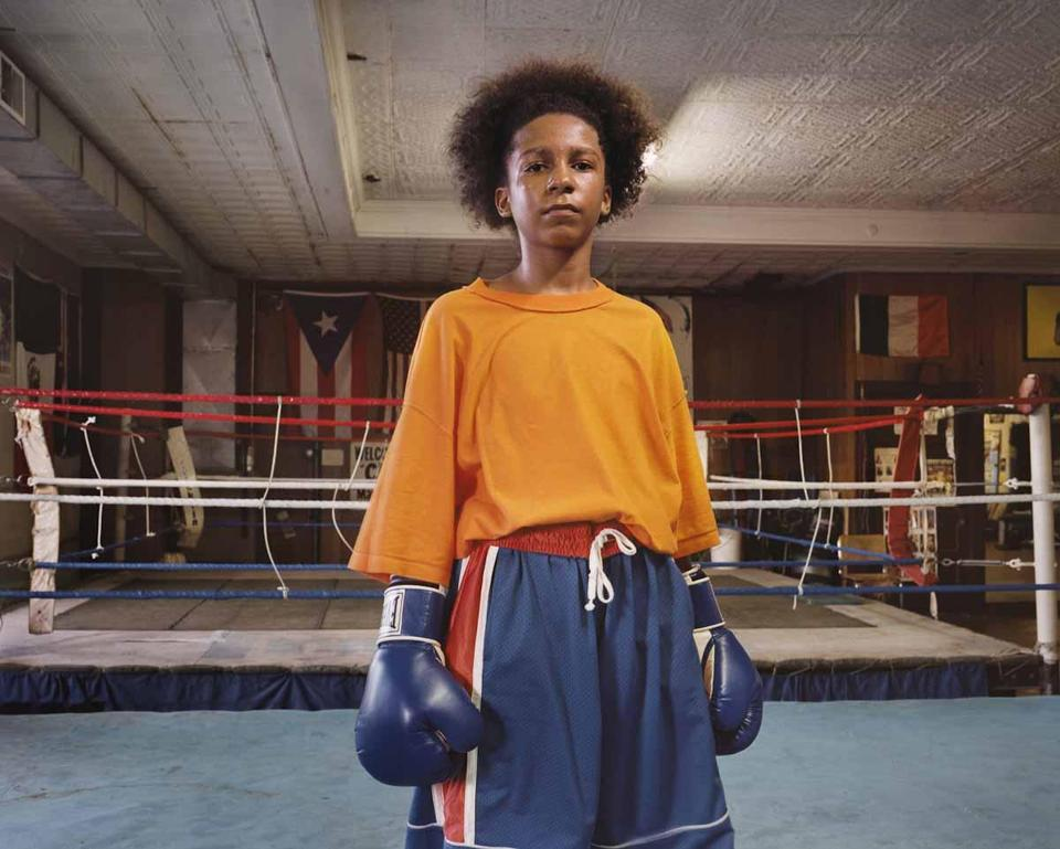 "Mary Beth Meehan, ""Untitled"" (young boxer)."