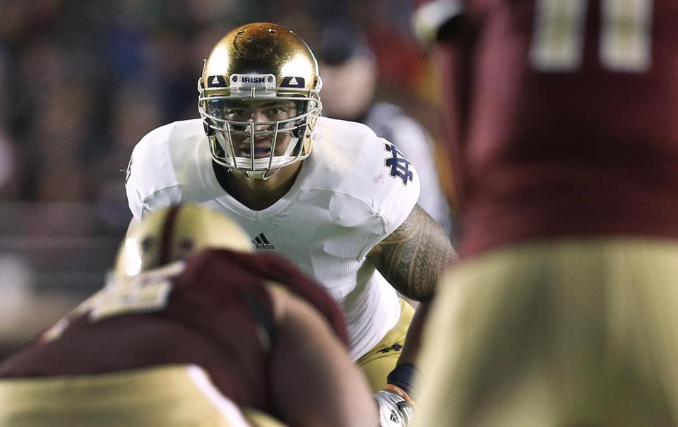 Before Manti Te'o came to Boston in November to play at Boston College, the Boston Globe told his story.