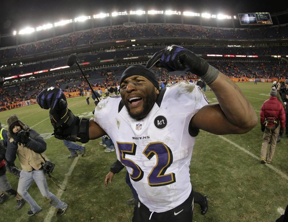 After the Ravens' double-OT win in Denver, Ray Lewis knew retirement would wait for at least another week.