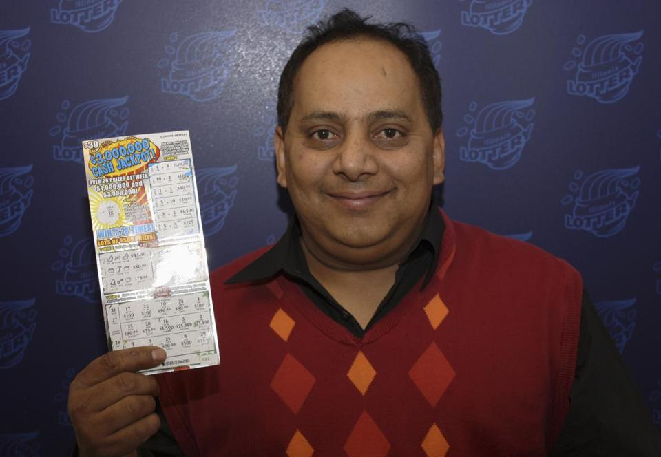Urooj Khan, 46, was about to collect lottery winnings when he died in July.