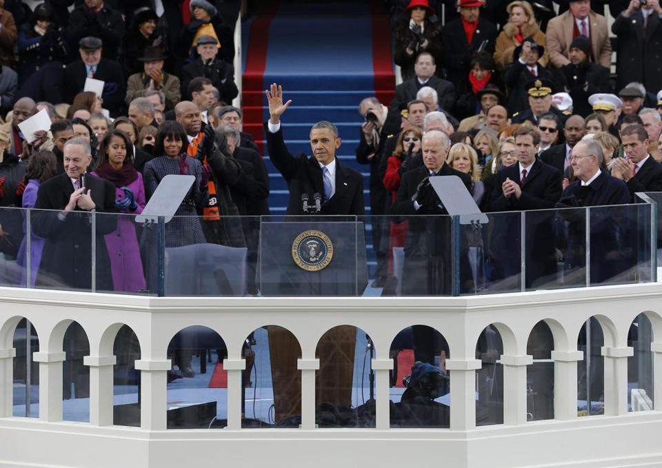 President Obama touched on social safety nets and equal pay in his inaugural speech.
