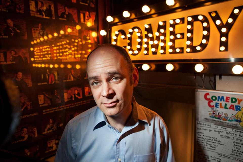 Todd Barry, a stand-up comedian, has decided to go through his current tour with no set -- only audience interactions.