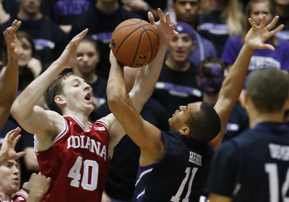 Cody Zeller (left) didn't let Indiana fall victim to an upset, scoring 21 points.