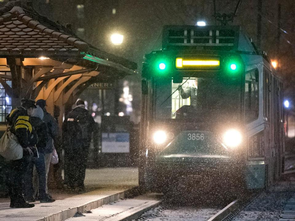 The MBTA would run late-night weekend service under the plan.