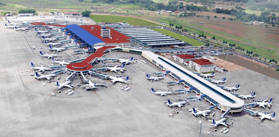 Copa Airlines' Panama City hub. Passengers will be able to connect from there to popular cities including San Jose, Guatemala City, and Sao Paolo.