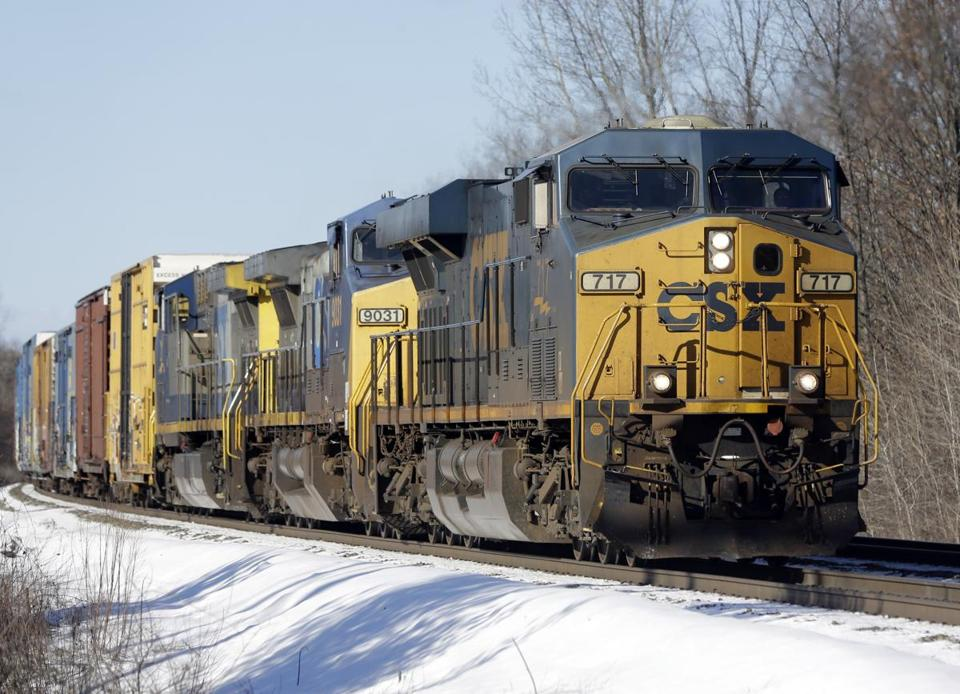 CSX officials expect US coal shipments to fall in 2013.
