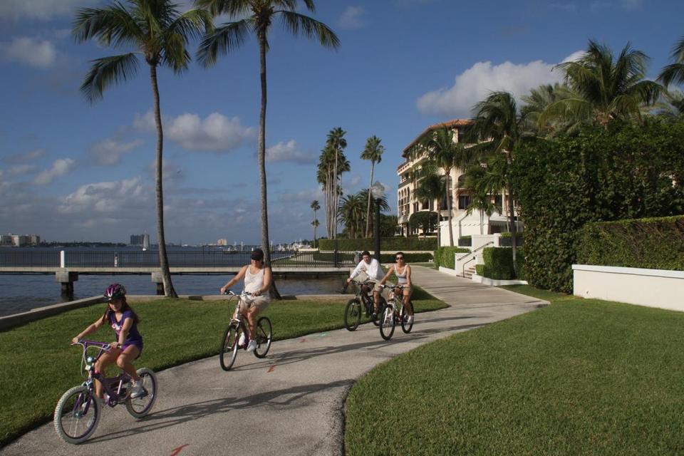 "From the Lake Trail in Palm Beach, visitors see many monuments to Henry Flagler's late-19th-century vision of Florida as an ""American Riviera"" populated by super-wealthy industrialists like him and the Rockefellers."