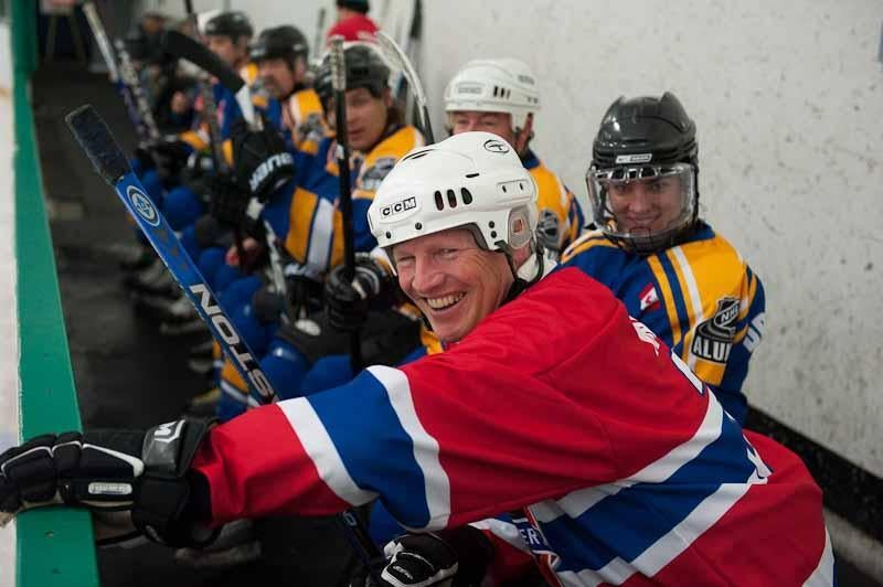 Mark Napier and other ex-NHL stars will play in Marlborough for charity in April.