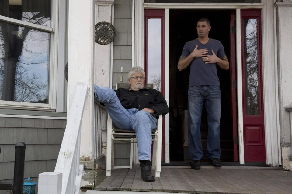 "Walter and Jonathan in A&E's ""Southie Rules."""