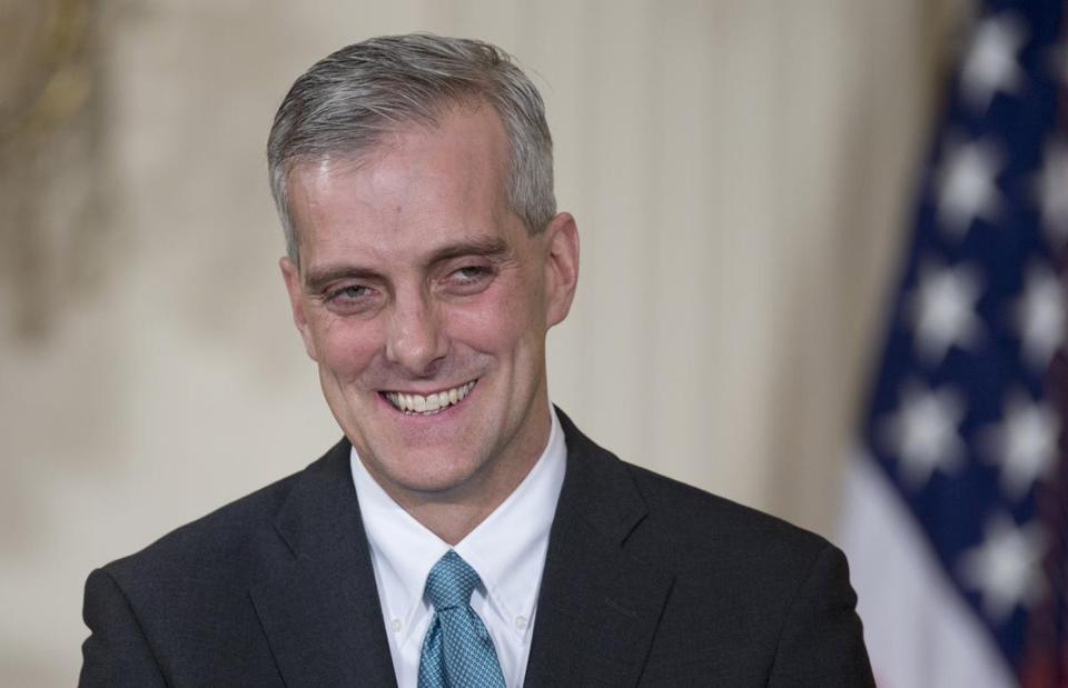 President Obama said Denis McDonough has played a key role in all his major national security decisions.