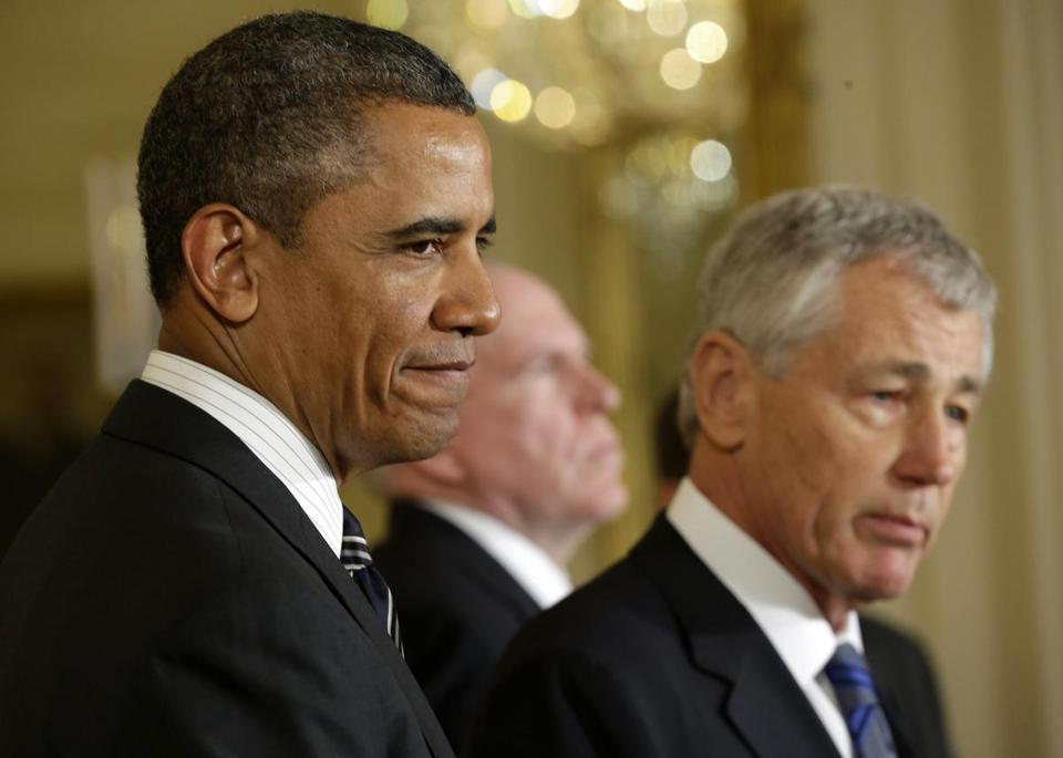 President Obama has nominated Chuck Hagel for Secretary of Defense.