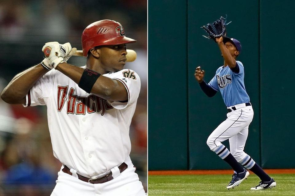 Justin Upton and B.J. Upton on the Braves