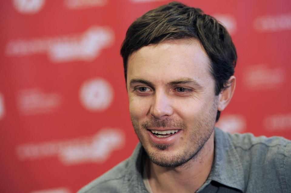 "Casey Affleck, a cast member in ""Ain't Them Bodies Saints,"" is interviewed at the premiere of the film at the 2013 Sundance Film Festival, Sunday, Jan. 20, 2013, in Park City, Utah. (Photo by Chris Pizzello/Invision/AP)"