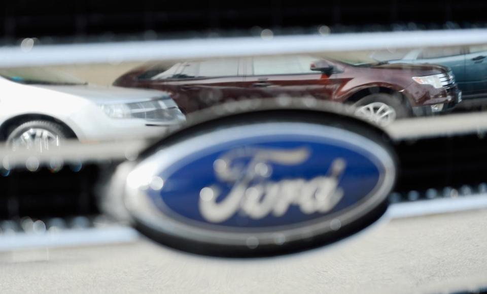 Ford's fourth-quarter revenue rose 5 percent to $36.5 billion, beating analysts' forecast of $33.5 billion.