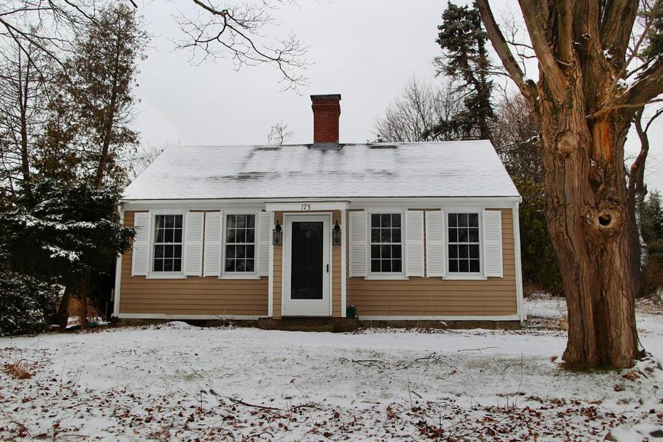 The house is near the MBTA's Weymouth and West Hingham commuter rail stops and is also a short walk to Bare Cove Park.