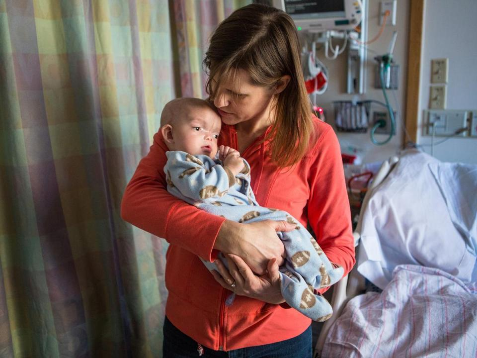 Mary Gundrum is grateful to the medical team at Boston Children's Hospital that took care of her son Dominic Pio.