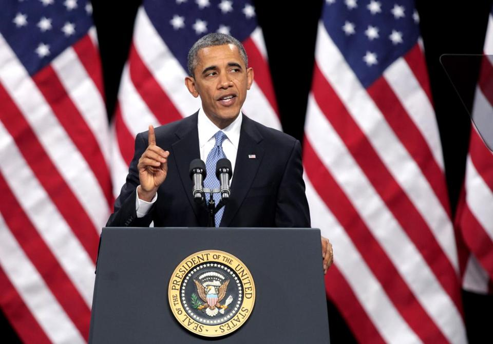 President Obama delivered his address on immigration reform at Del Sol High School in Las Vegas, Nevada.